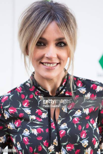 Anna Simon attends the 'Zapeando' 1000 programmes press conference at 'Atresmedia' studios on November 21 2017 in Madrid Spain