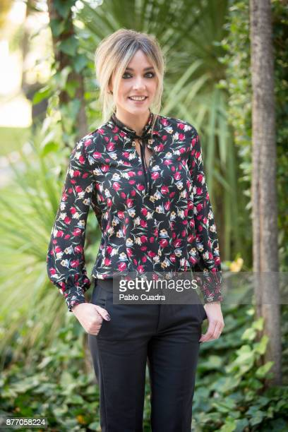 Anna Simon attends the 'Zapeando' 1000 programmes press conference at 'Atresmedia' studios on November 21 2017 in Madrid Spain