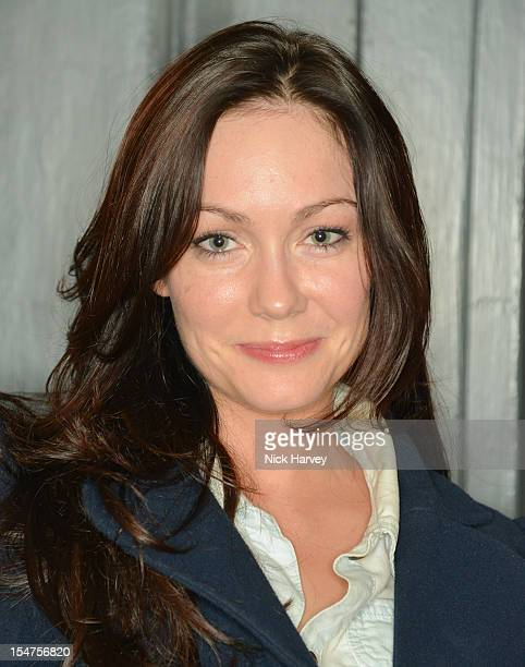 Anna Skellern attends the private view of Rankin Fishlove on October 25 2012 in London England