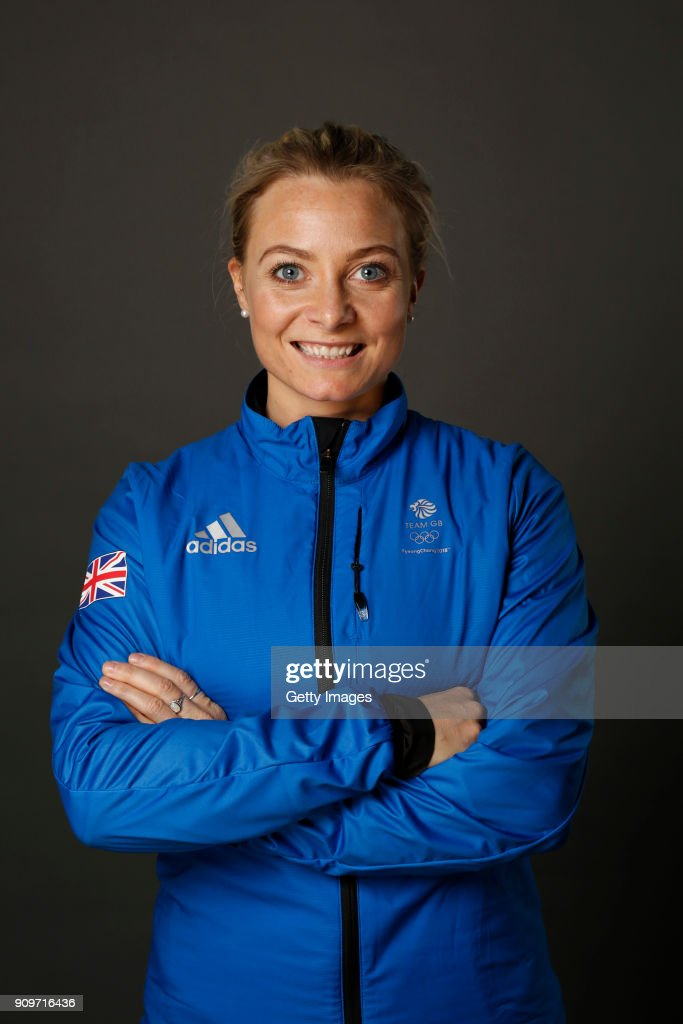 Anna Sloan poses at The Team GB Kitting Out Ahead Of Pyeongchang 2018 Winter Olympic Games on January 24, 2018 in Stockport, England.
