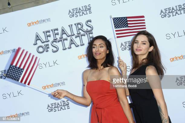 Anna Smith and guest attend the 'Affairs Of State' Special Screening at the Egyptian Theatre on June 13 2018 in Hollywood California