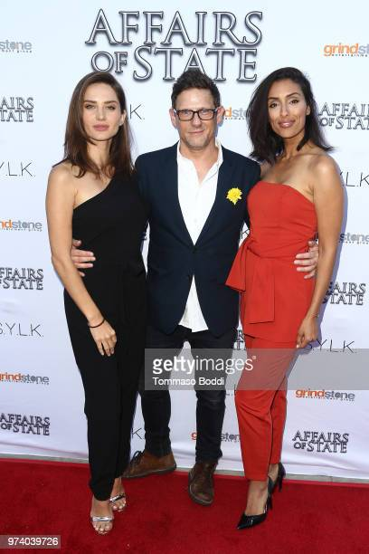 Anna Smith Eric Bross and guest attend the 'Affairs Of State' Special Screening at the Egyptian Theatre on June 13 2018 in Hollywood California