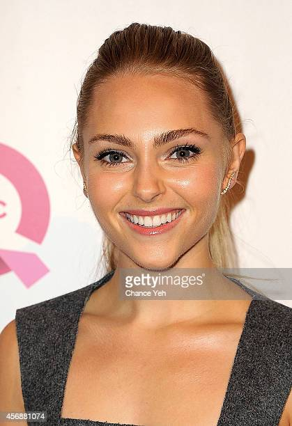 Anna Sophia Robb attends the 2014 FFANY Shoes On Sale Gala at The Waldorf=Astoria on October 8 2014 in New York City