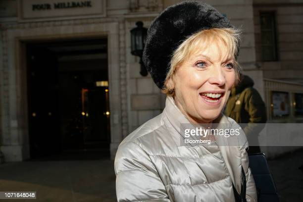 Anna Soubry a Conservative lawmaker departs following a media interview in the Westminster district of London UK on Tuesday Dec 11 2018 Faced with a...