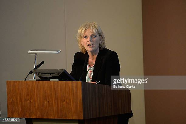 Anna Soubry talks at London Stock Exchange on June 24 2015 in London England