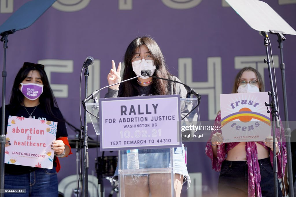 Rally For Abortion Justice : News Photo