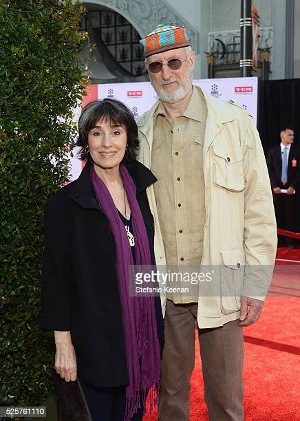 Anna Stuart and actor James Cromwell attend 'All The President's Men' premiere during the TCM Classic Film Festival 2016 Opening Night on April 28...