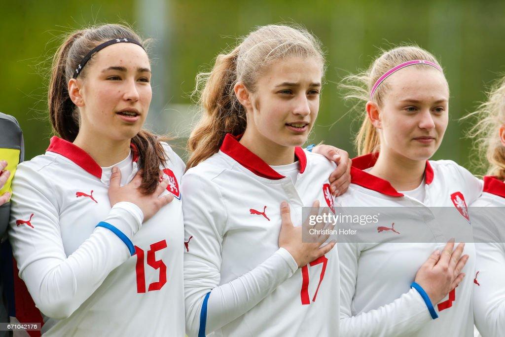 U15 Junior Women Czech Republic v U15 Junior Women Germany - International Friendly : News Photo