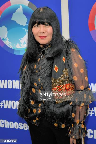 Anna Sui attends 2018 Women's Entrepreneurship Day at United Nations on November 16 2018 in New York City