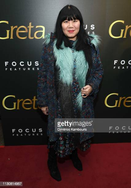 Anna Sui attends a special screening of Greta at Metrograph on February 19 2019 in New York City