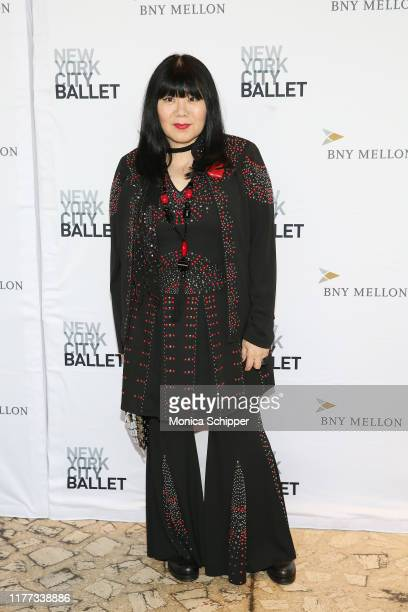 Anna Sui attends the 8th Annual New York City Ballet Fall Fashion Gala at David H Koch Theater Lincoln Center on September 26 2019 in New York City
