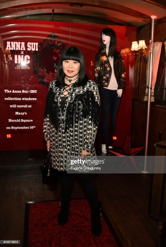 Anna Sui x INC International Concepts Launch Party : News Photo