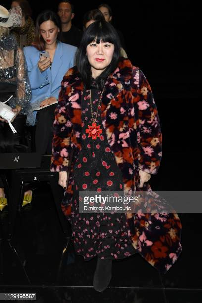 Anna Sui attends the Marc Jacobs Fall 2019 Show at Park Avenue Armory on February 13 2019 in New York City