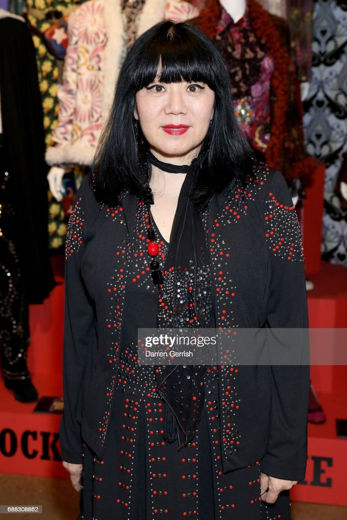 The World Of Anna Sui Exhibition : Private View At The Fashion And Textile Museum : News Photo