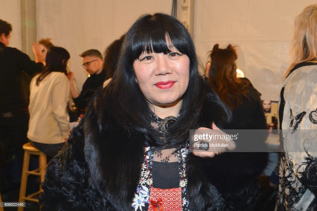 Anna Sui Fall/Winter 2017 Show : News Photo