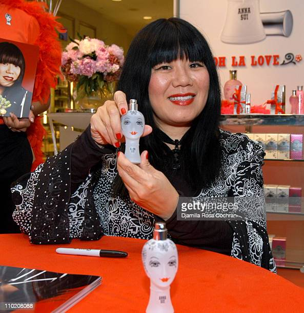 "Anna Sui during Anna Sui Introduces her New Fragrance ""Dolly Girl Ooh La Love"" at Bloomingdale's at Bloomingdale's in New York City, New York, United..."