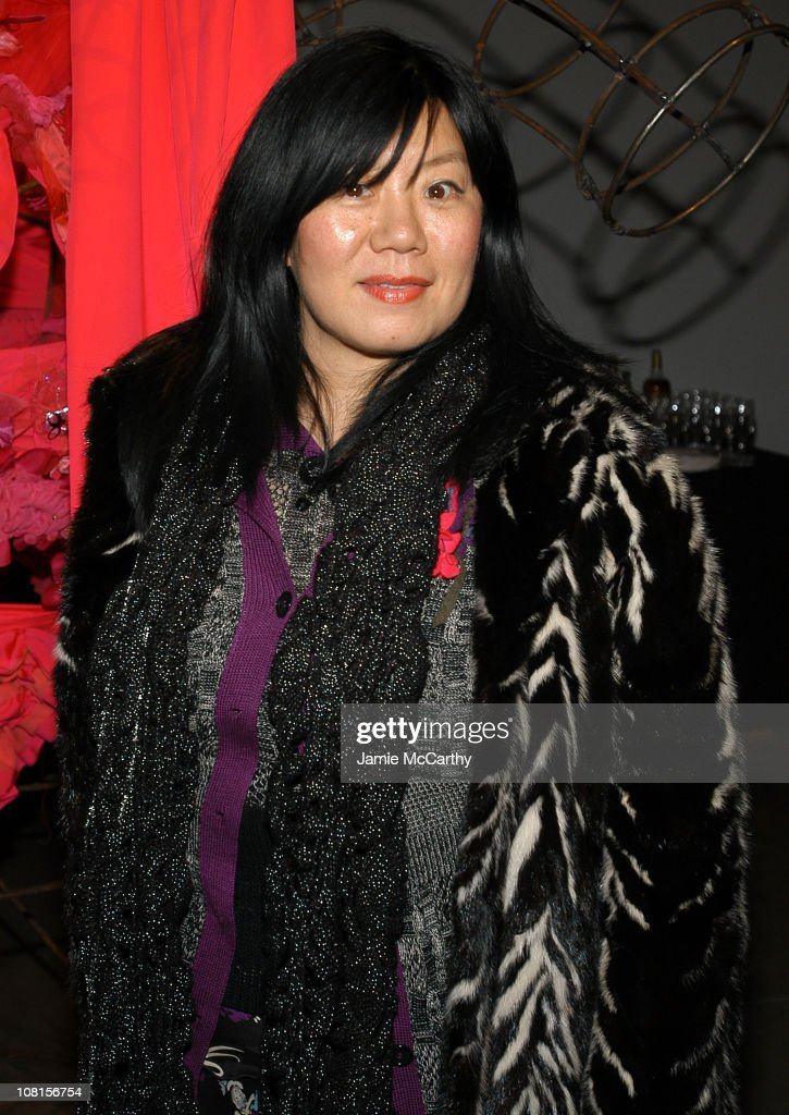 Anna Sui during W Magazine Trunk Show at 545 West 22nd Street in New York City, New York, United States.