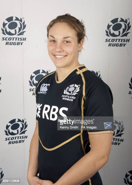 Anna Swan during a photocall at Murrayfield Edinburgh