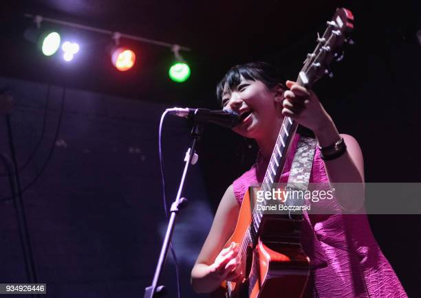 Anna Takeuchi performs during Japan Nite 2018 at The Burlington on March 19 2018 in Chicago Illinois