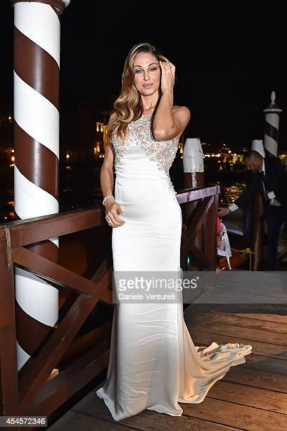 Anna Tatangelo attends 'Diva e Donna' Party during the 71st Venice Film Fetival at Centurion Palace Hotel on September 3, 2014 in Venice, .