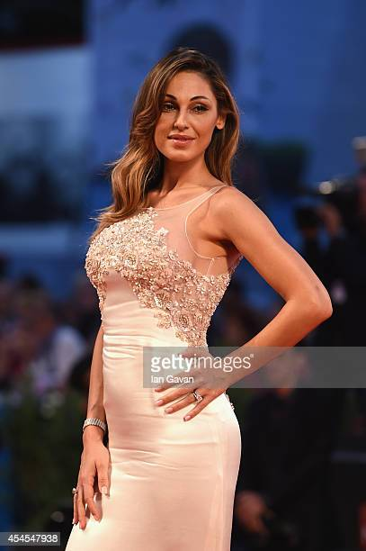 Anna Tatangelo attends the Le Dernier Coup De Marteau premiere during the 71st Venice Film Festival on September 3 2014 in Venice Italy