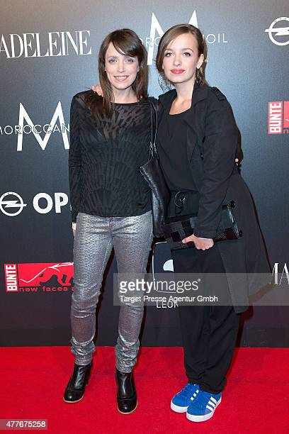 Anna Thalbach and Nellie Thalbach attend the New Faces Award Film 2015 at ewerk on June 18 2015 in Berlin Germany
