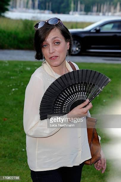 Anna Thalbach attends the '41th International Emmy Awards - Semi Final Hosting' reception at Villa Borsig on June 18, 2013 in Berlin, Germany.