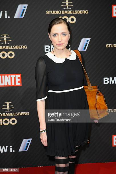 Anna Thalbach attends the Babelsberg 100th Anniversary Party during day five of the 62nd Berlin International Film Festival at the Station on...