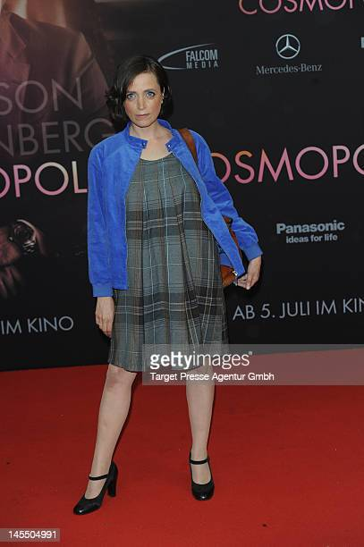 Anna Thalbach attends the german premiere of his movie 'Cosmopolis' at Kino International on May 31, 2012 in Berlin, Germany.