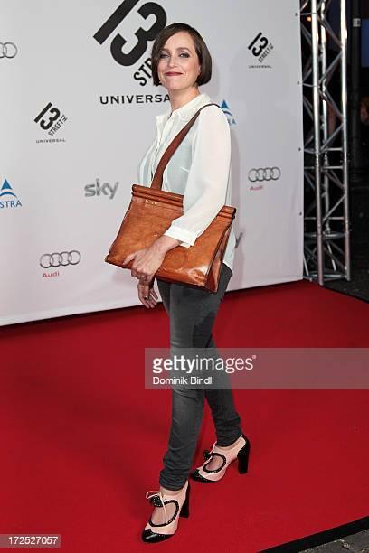 Anna Thalbach attends the Shocking Shorts Award at Galerie der Kuenstler on July 2, 2013 in Munich, Germany.