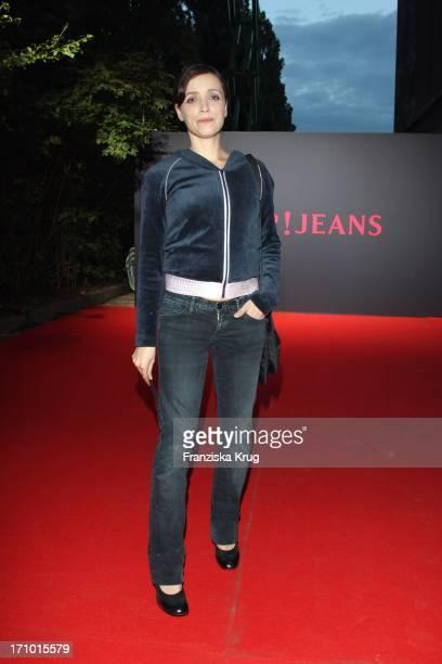 Anna Thalbach Bei Der Joop Jeans Modenschau Bei Der Mercedes Benz Fashionweek 2008 Im Kubus In Berlin
