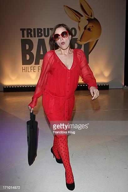 """Anna Thalbach Bei Der """"Tribute To Bambi"""" Benefizveranstaltung In Berlin"""
