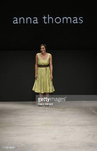 Anna Thomas, designer during Rosemount Australian Fashion Week Transeasonal 2007 - Anna Thomas - Runway at St Kilda Sea Baths in Melbourne, VIC,...