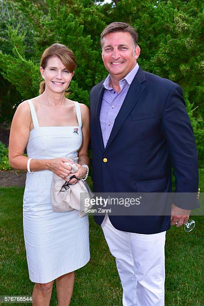 Anna ThroneHolst and Mark Epley attend Southampton Animal Shelter Foundation's 7th Annual Unconditional Love Dinner Dance 2016 at Private Residence...