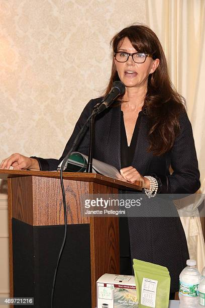 Anna ThroneHolst attends Hamptons Magazine Local Business Seminar 2015 at Southampton Inn on April 14 2015 in Southampton New York