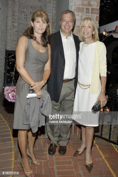 Anna ThroneHolst Mark Chiffer and Victoria Kahn attend PARRISH ART MUSEUM Midsummer Party Honoring BETH RUDIN DEWOODY and ROSS BLECKNER at Parrish...