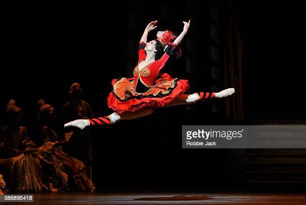 Anna Tikhomirova as Mireille de Poitiers in The Bolshoi Ballet's production of Alexei Ratmansky's revival of Vasily Vaiononen's The Flames of Paris...