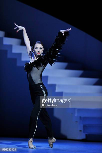 Anna Tikhomirova as The Housekeeper in The Bolshoi Ballet's production of JeanChristophe Maillot's The Taming of the Shrew at The Royal Opera House...