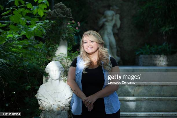 Anna Todd American writer Milano Italy 8th June 2015