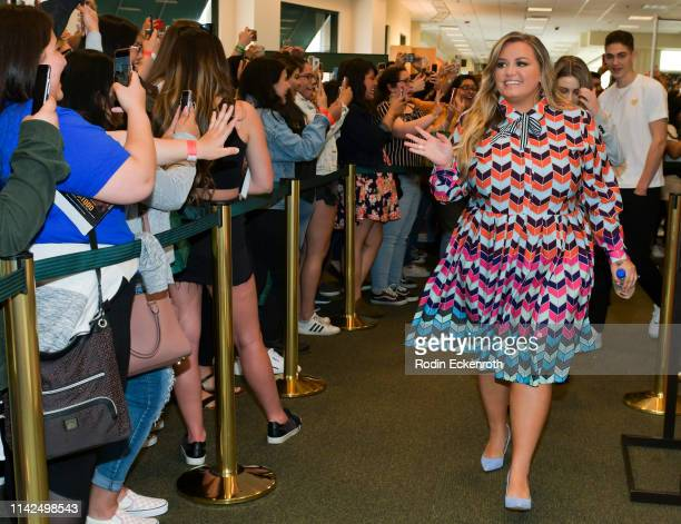 Anna Todd signs and discusses her book and movie tie in for After at Barnes Noble at The Grove on April 13 2019 in Los Angeles California