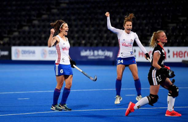 GBR: Great Britain Women v Germany Women - FIH Hockey Pro League