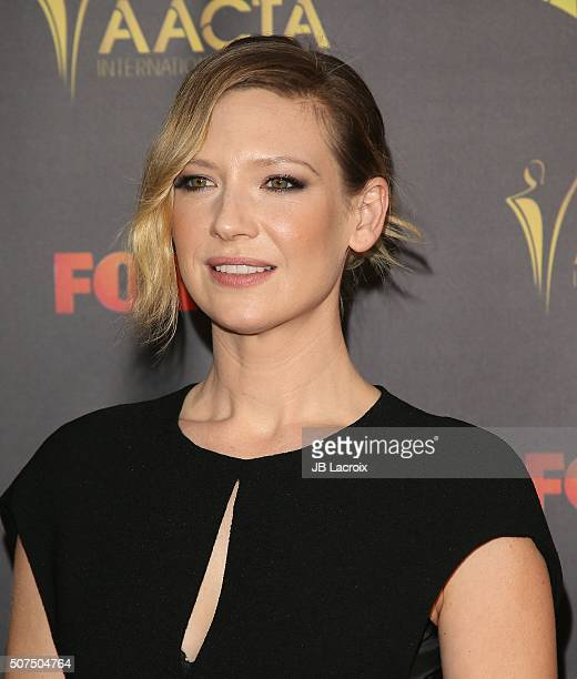 Anna Torv attends the 5th AACTA International Awards at Avalon Hollywood on January 29 2016 in Los Angeles California United States