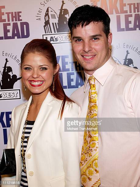 Anna Trebunskaya and Jonathan Roberts during New Line Cinema Presents 'Take The Lead' Los Angeles Screening Arrivals at Mann's Chinese Theater Screen...