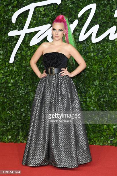 Anna Trvelyan arrives at The Fashion Awards 2019 held at Royal Albert Hall on December 02 2019 in London England