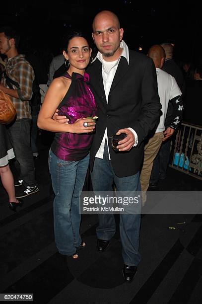 Anna Tsilalis and Michael TSilakis attend THE JAMES BEARD FOUNDATION and BON APPETIT present CHEF's NIGHT OUT at Edison Ballroom NYC on June 6 2008...