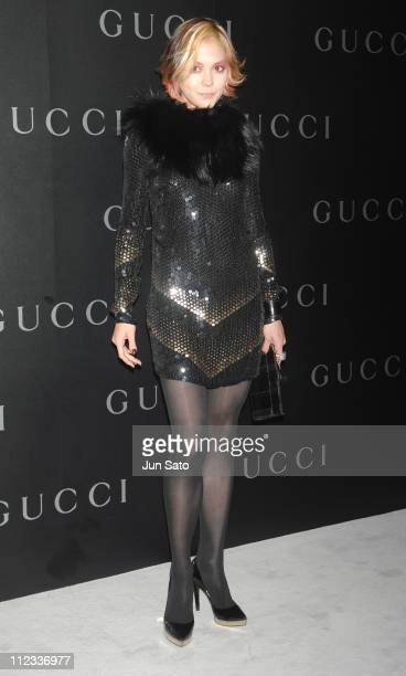 Anna Tsuchiya during GUCCI Ginza Flagship Store Opening Reception Party Arrivals at Tokyo Port Terminal in Tokyo Japan