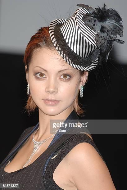 Anna Tsuchiya wearing DTC Diamond Jewerly Collection