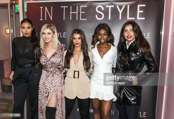 Anna Vakili Amy Hart Joanna Chimonides Yewande Biala and Francesca Allen attend the press launch for The Style The Power Edit at ELN Cafe in London
