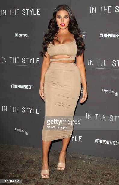 Anna Vakili attends the In The Style The Power Edit Launch Party at Libertine Night Club in London