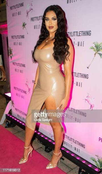 Anna Vakili attends the Pretty Little Thing X MollyMae party at Rosso on September 01 2019 in Manchester England